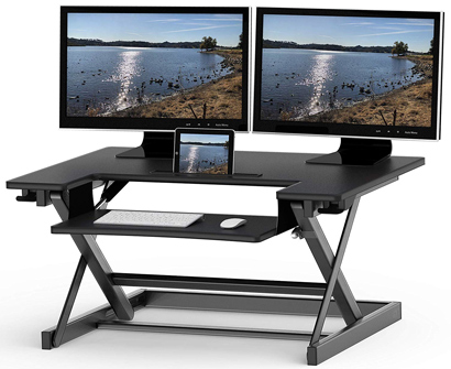SHW Height Adjustable Sit to Standing Des