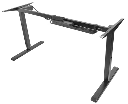 VIVO Black Electric Stand Up Desk
