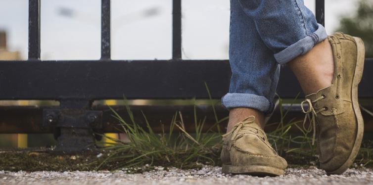 avoid bare feet