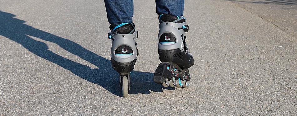 inline skates ride