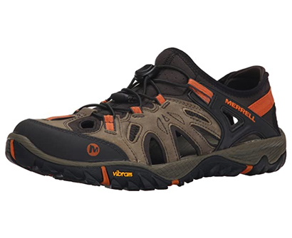 merrell all out blaze sieve water