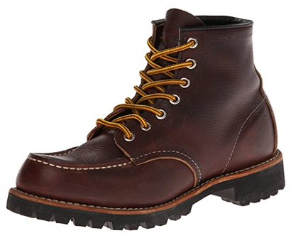 red wing heritage roughneck lace up