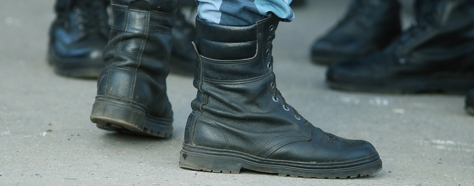 soldier boots