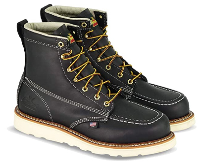 thorogood american heritage moc toe safety