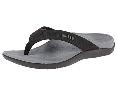vionic unisex wave toe post sandal