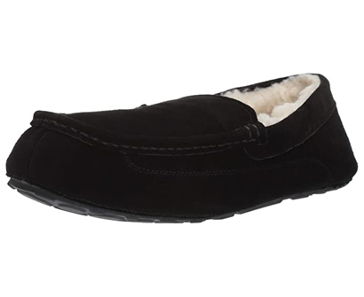 amazon essentials leather moccasin