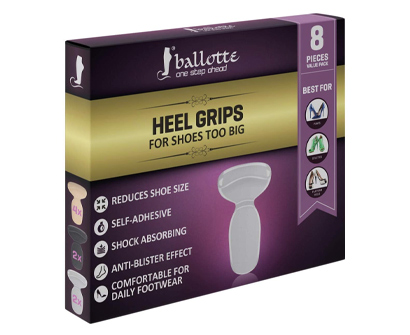 ballotte reusable heel cushion inserts