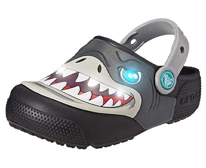 crocs kids' boys and girls shark