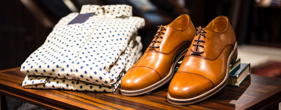 formal shoes with shirt