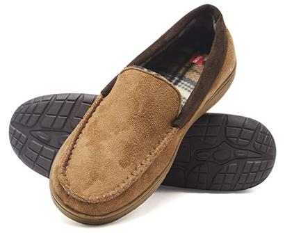 hanes moccasin house shoe