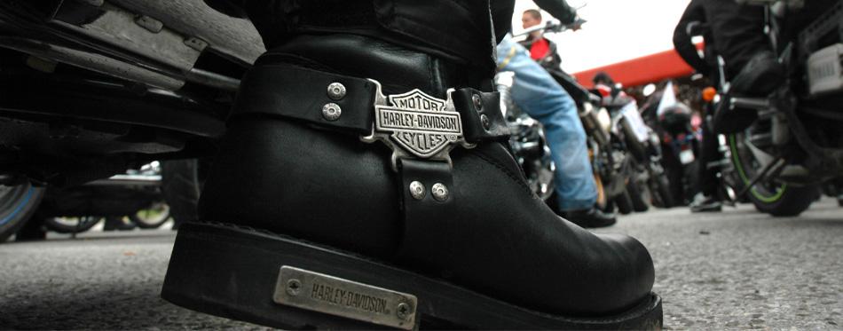 harley davison boot