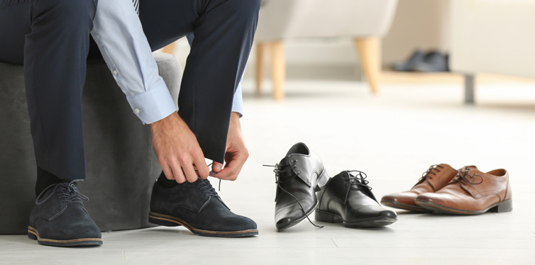 rotate your shoes
