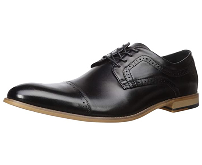 stacy adams men's dickinson cap-toe lace-up oxford