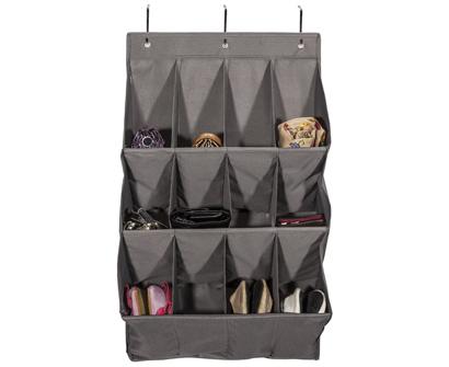 storage maniac 12-pocket over the door hanging organizer