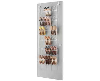 whitmor 18-pair over the door shoe rack