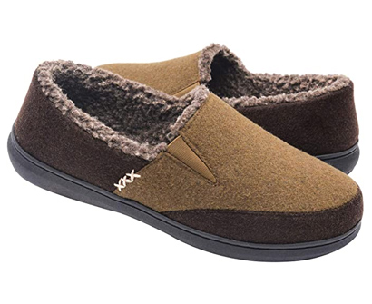 zigzagger fuzzy microsuede moccasin