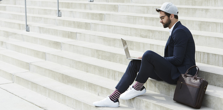 Sneakers You Can Wear With A Suit