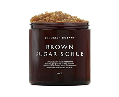 brooklyn botany brown sugar body & foot exfoliator