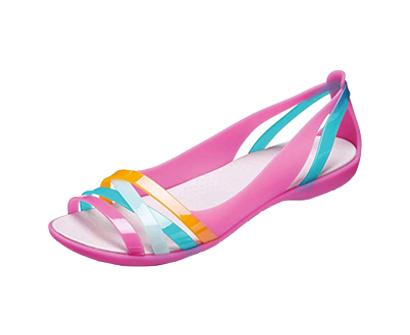 crocs women's isblhrch2fltw flat sandal