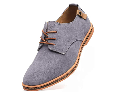 dadawen classic suede leather oxford
