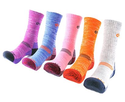 dearmy cushion outdoor sports hiking socks