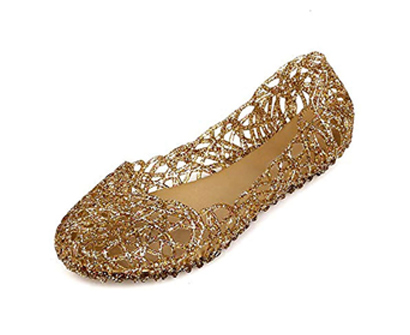 domucos women's bird nest jelly shoes