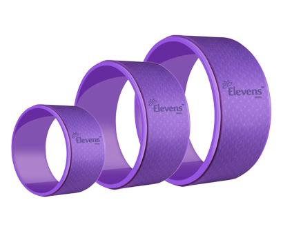 elevens yoga wheel set of 3, dharma yoga prop wheel