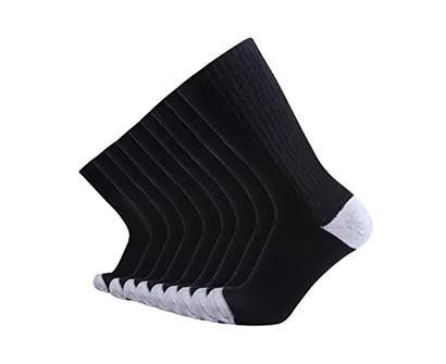 enerwear extra heavy cushion crew socks