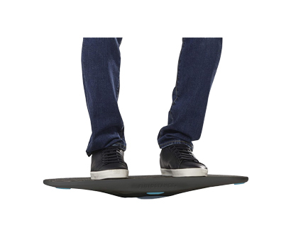 fluidstance - balance board for standing desk
