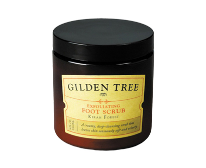 gilden tree exfoliating foot scrub