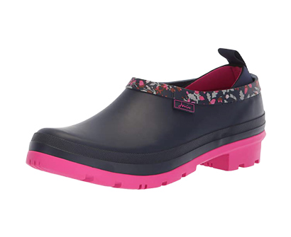 joules women's pop-on rain boots