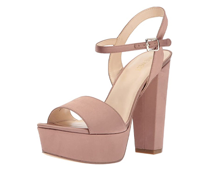 nine west women's carnation satin