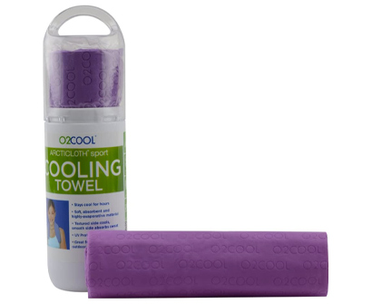 o2cool arcticloth sport cooling towel