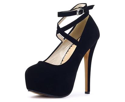 ochenta women's ankle strap platform