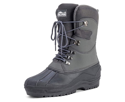 polar men's snow hiking mucker duck grafters