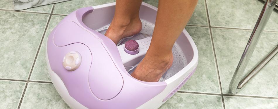purple foot massager