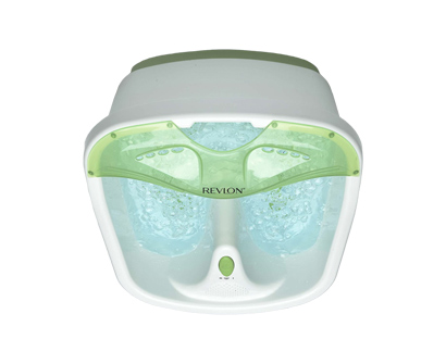 revlon bubbling toe touch foot spa
