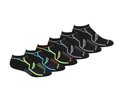saucony men's multi-pack bolt athletic socks