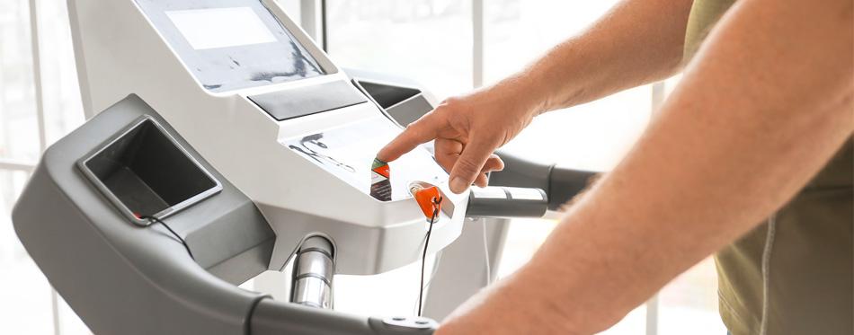 treadmill speed