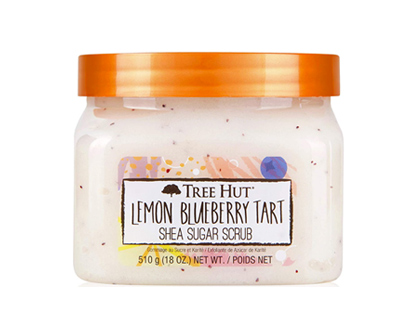 tree hut lemon blueberry tart shea sugar scrub