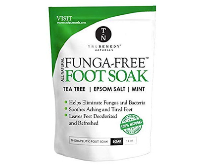 truremedy naturals tea tree oil foot soak