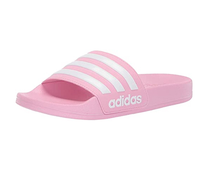 adidas kids girl's adilette shower slide