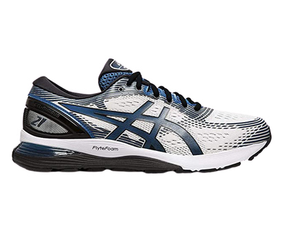 asics men's gel-nimbus 21 (4e) running shoe