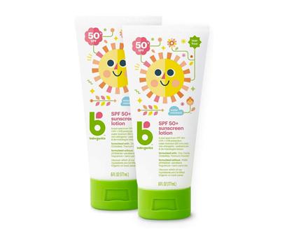 babyganics sunscreen lotion 50 spf