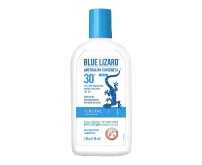 blue lizard australian sunscreen's mineral sensitive sunscreen