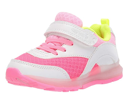 carter's kids' zimmer light-up athletic sneaker