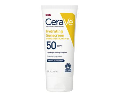 cerave 100% mineral sunscreen for sensitive skin