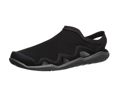 crocs men's swiftwater mesh wave sandal