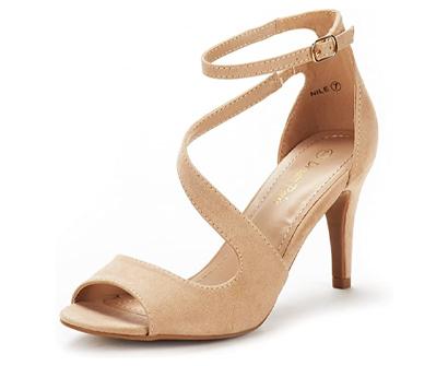 dream paris women's nile fashion stilettos open toe pump heel sandals