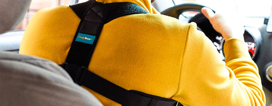 driving with posture corrector